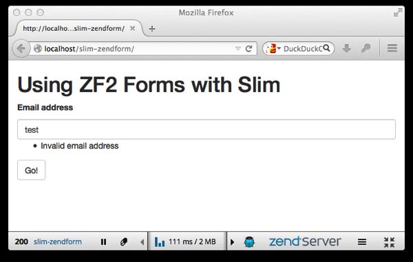 Slim zendform