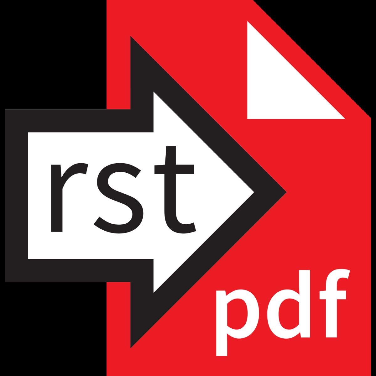 Rst2pdf logo 1350