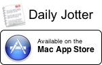 Daily Jotter on Mac App Store